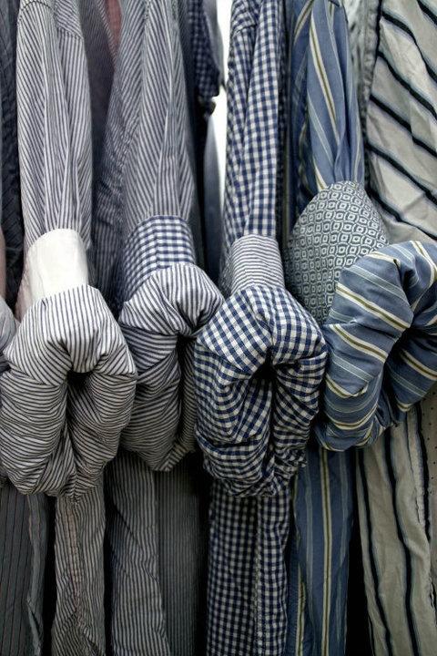 Puños de camisa, diferentes telas y estampados.  @OnnaIbiza
