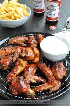 """Due bionde in cucina: Alette di pollo piccanti """"Buffalo Chicken Wings"""""""