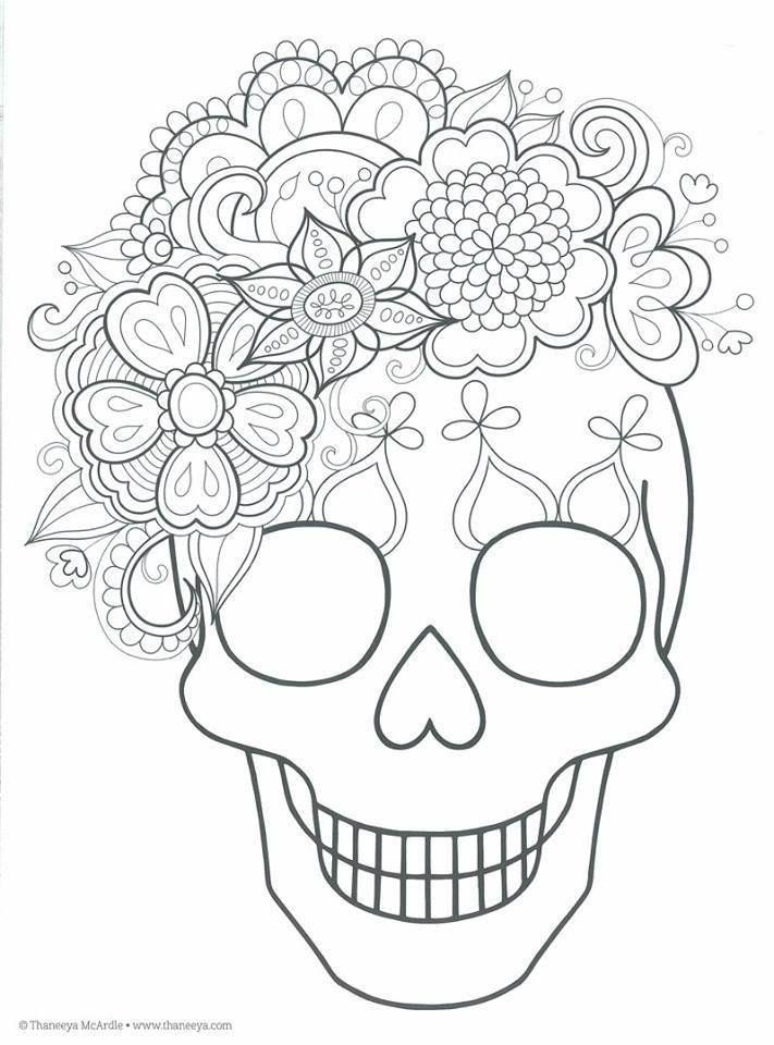 Dibujos Para Colorear El Dia De Los Muertos 5 Dibujo Dia De Muertos Calaveras Para Colorear Calaveras Mexicanas Para Colorear