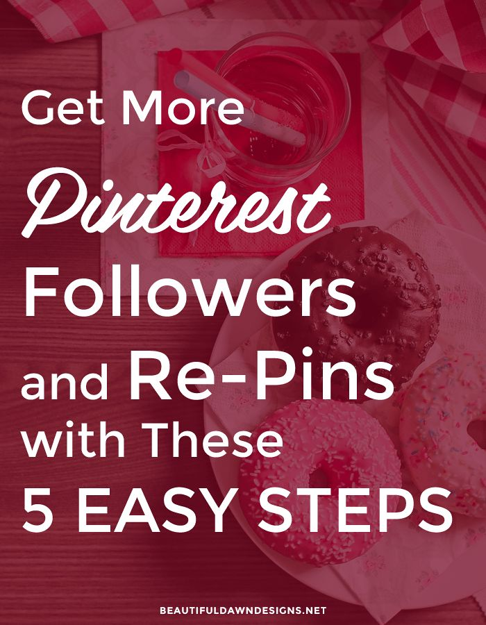 If you're new to Pinterest, or have been on Pinterest for a while, but haven't seen the growth you'd like to see with the platform, I'm here to help. In this post I'm sharing with you a few tips that have helped me in gaining followers and repins on Pinterest.