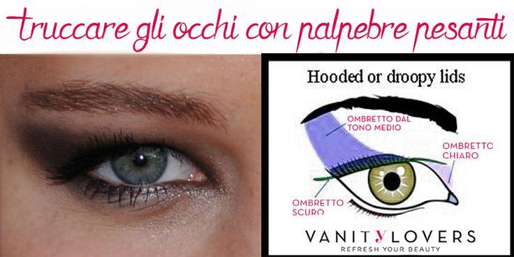 Occhi glamour anche avendo le palpebre pesanti? È Possibile! http://www.vanitylovers.com/prodotti-make-up-occhi/ombretti.html?utm_source=pinterest.com&utm_medium=post&utm_content=vanity-ombretti&utm_campaign=pin-vanity
