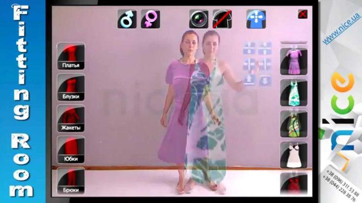 Virtual Dressing Room/Interactive Mirror Kinect