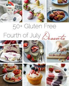 gluten free 4th of july cupcakes