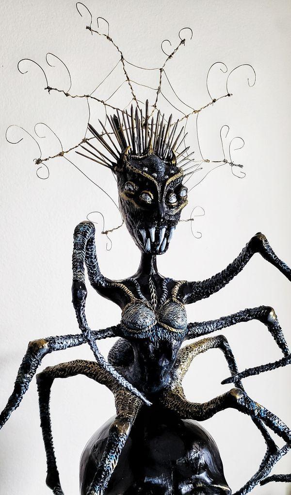 Webecca - Original Artwork - spider sculpture fantasy dark art for Sale in  Los Angeles, CA - OfferUp | Original artwork, Dark art, Artist