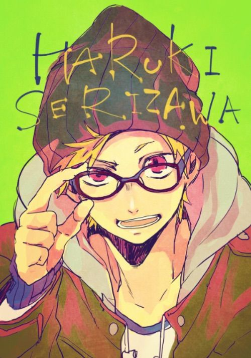 Haruki is so cuuute