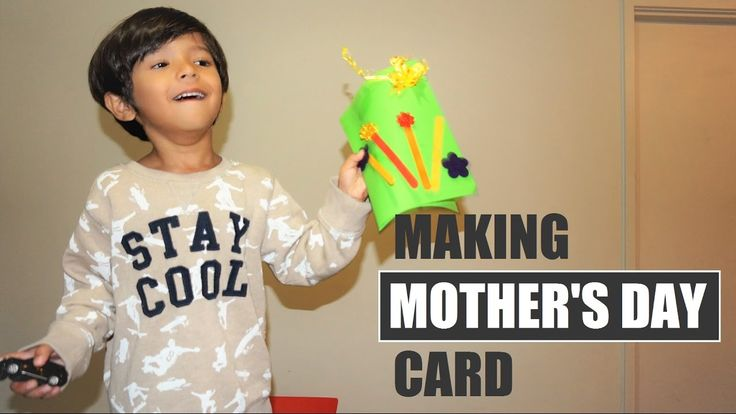Mother's Day Card Ideas for Kids  Making Mother's Day Card #AllTheMoms...  Making Mother's Day Card is fun activities for kids and it learns about appreciating mother. Today we're going to show you how to make an easy Mother's Day card!  Show your love to your mom by making a simple mother day card. She will definitely love whatever you make it.    #AllTheMoms, #MothersDay, #ArhamPlayTime #MotherDay