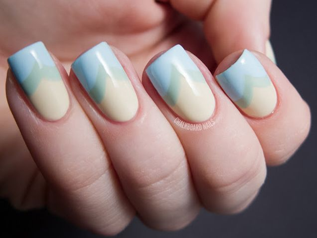 French Manicure Nail Art Design Trends
