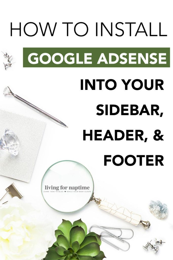 Ready to monetize your blog with Google Ads? Here's a step-by-step tutorial on how to install adsense in the header, footer and sidebar of your Wordpress blog.