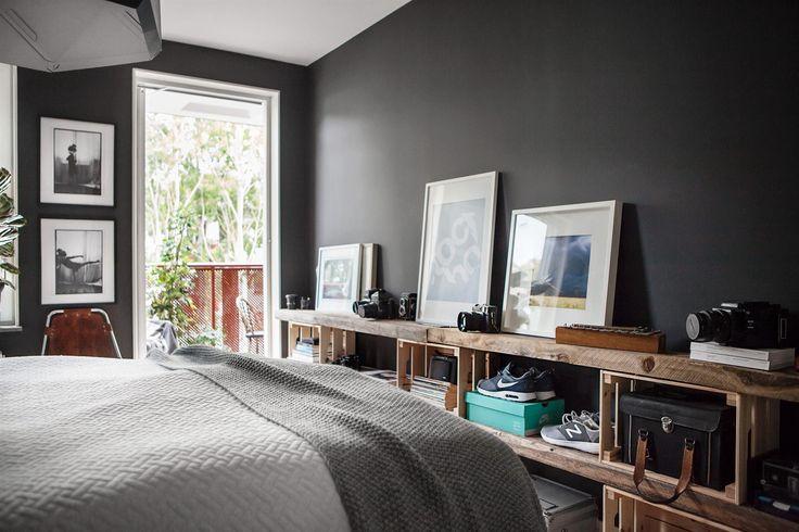 25 beste ideen over Zwarte slaapkamer muren op Pinterest