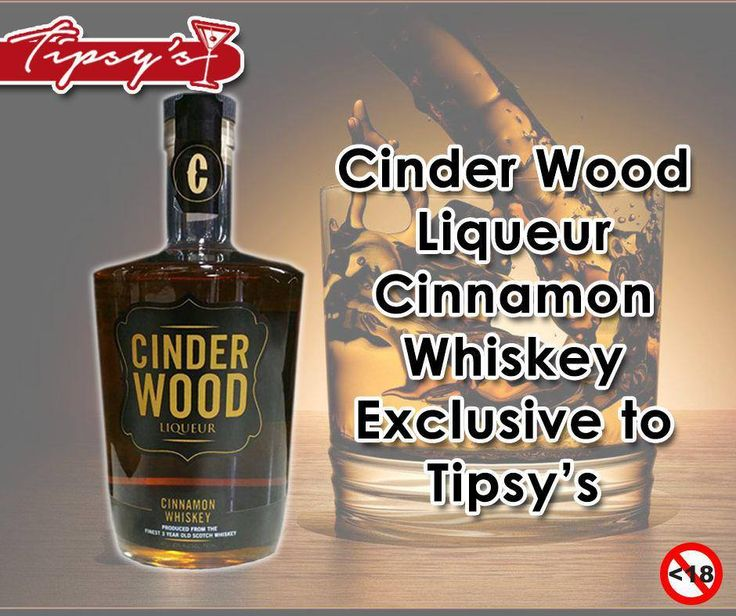 Cinder Wood Liqueur Cinnamon Whiskey exclusively at #TipsysLiquorBoutique. Not for Sale to Persons Under the Age of 18. Drink Responsiblyhttps://www.facebook.com/TipsysLiquorBoutique/photos/pb.792063187523700.-2207520000.1437231709./925501947513156/?type=3