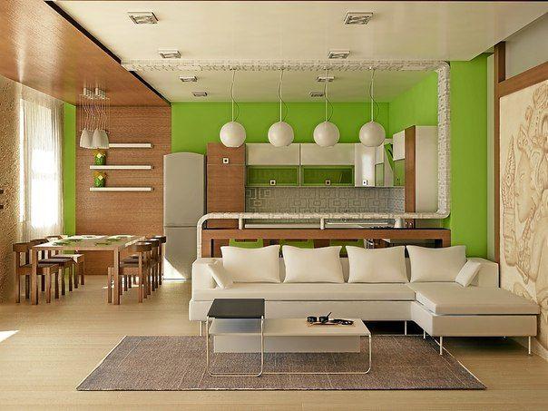 Дизайн квартиры студии - великолепные идеи