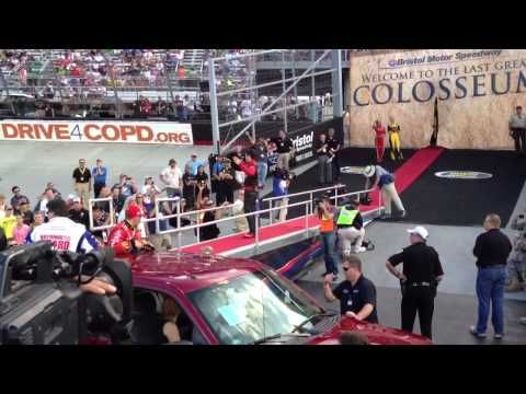 Bristol NASCAR driver introductions (songs).  Because @Jeff Sheldon Gluck is awesome.