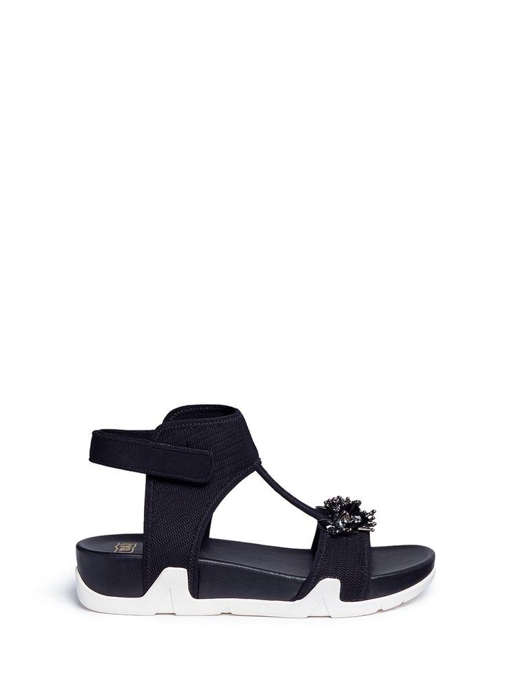 Ash | 'Osiris Flowers' embellished sandals