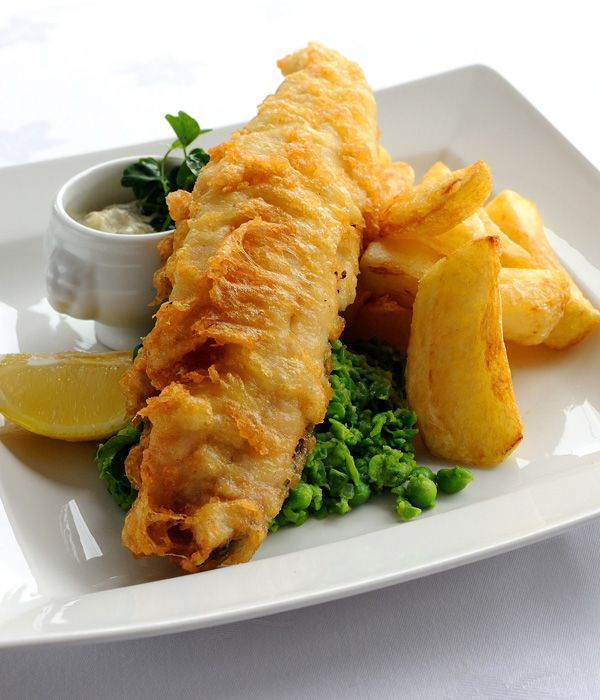 Josh Eggleton's fish and chips recipe is an excellent rendition of a classic British meal.