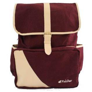 tas ransel vintage,,  pulcher bags - PREMIER Maroon Rp. 199.000 // 085.7722.55000 - tasranselvintage.com