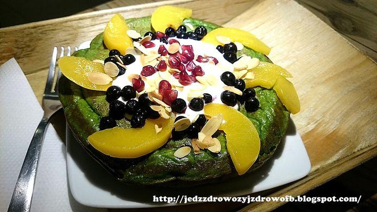 Jedz zdrowo żyj zdrowo: Omlet szpinakowy na słodko