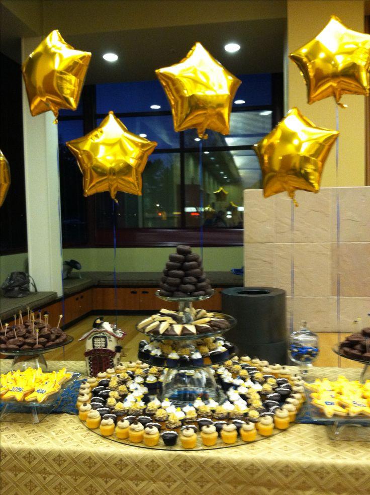 Retirement party cupcake celebrations pinterest