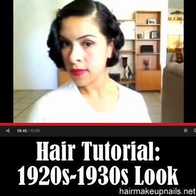 best 20 1920s hair tutorial ideas on pinterest 20s hair