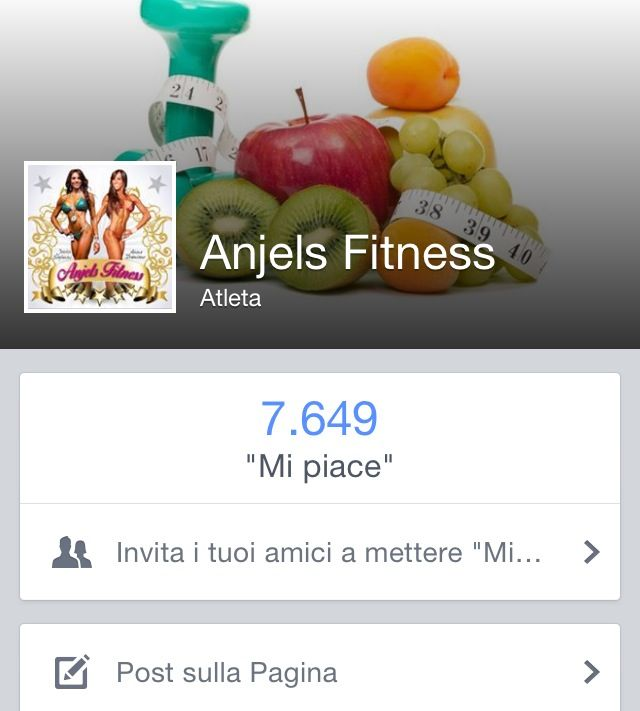 Follow Anjels Fitness on facebook :)