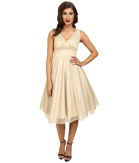 $223 / Zappos / Stop Staring! Dream Swing Dress Champagne - Zappos.com Free Shipping BOTH Ways