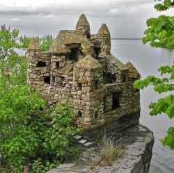 Stone Castles of South Hero, VT - a town on one of the Lake Champlain islands!