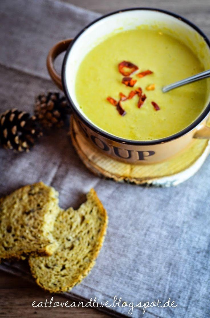 Gegen die Kälte im Januar hilft nur eine Maiscremesuppe!