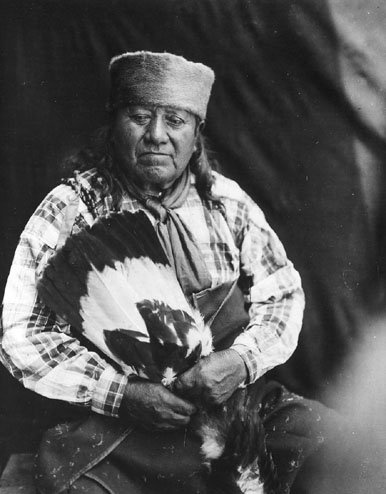 Wy-E-Na-She, a man of the Osage Nation. 1913. No additional information.