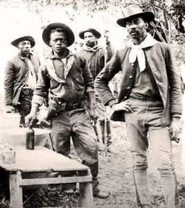 African Americans who arrived with the earliest Spanish expeditions to California helped create a culture that accepted them as equals.  Blacks purchased large segments of land and became successful businessmen with the establishment of hotels and trading centers.   Los Angeles was founded by 26 people of African ancestry and only two Caucasians.