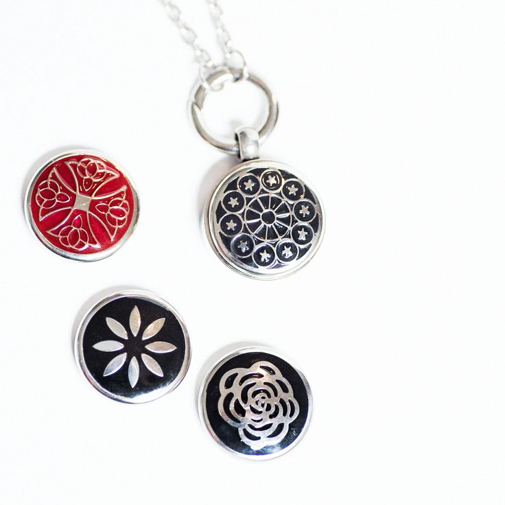 two lyttel buttons Disc. Interchangable Stainless steel disc www.twolyttelbuttons.co.nz