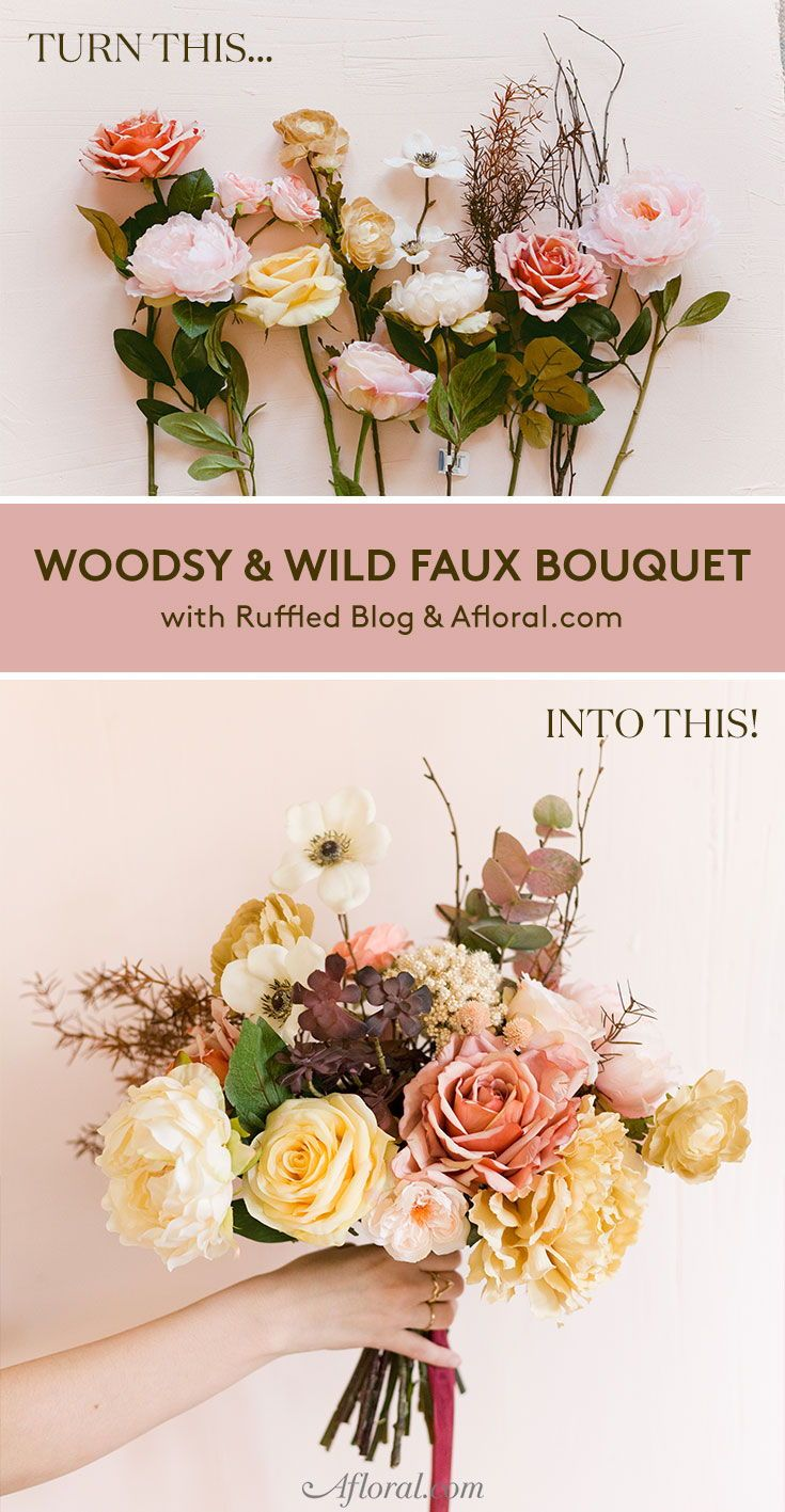 Make Your Own Woodsy & Wild Bouquet Inspired By Autumn   Wedding ...