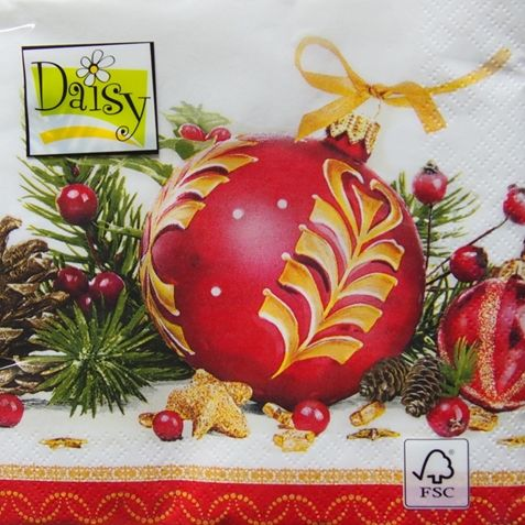 serwetki z motywem świątecznym
