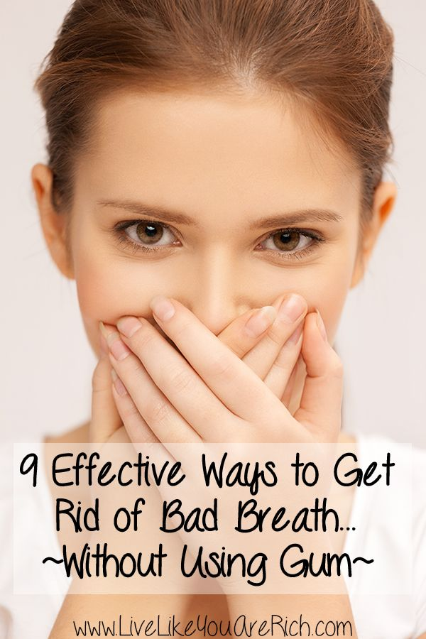 How to Fix Bad Breath without Gum- great ideas! #ad #LiveLikeYouAreRich