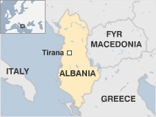 Albania is a small, mountainous country in the Balkan peninsula, with a long Adriatic and Ionian coastline.  Along with neighbouring and mainly Albanian-inhabited Kosovo, it has a Muslim majority - a legacy of its centuries of Ottoman rule.   After World War II, Albania became a Stalinist state under Enver Hoxha, and remained staunchly isolationist until its transition to democracy after 1990.