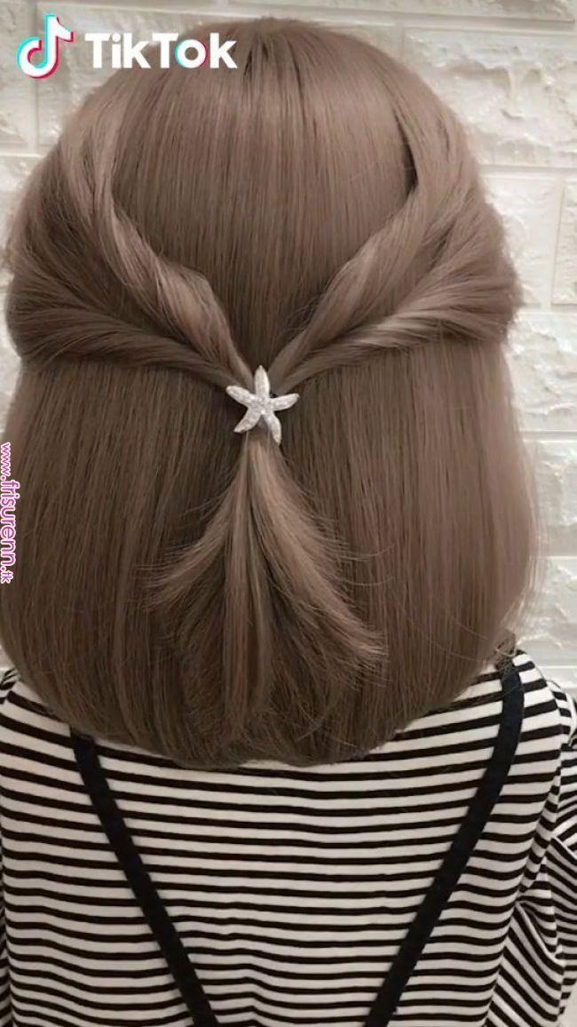 Tiktok Lustige Kurze Videoplattform Super Einfach Ein Neues Auszuprobieren Frisur Herunterladen Tick Tack Heut Hair Videos Short Hair Styles Hair Beauty