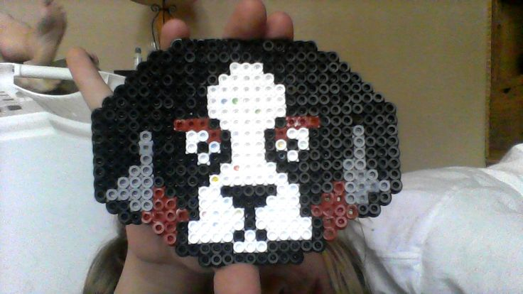Bernese Mountain Dog Perler Bead Design That I Made Myself