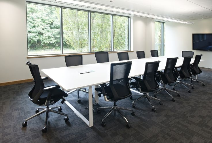Contemporary Bespoke Boardroom Table | Office Furniture