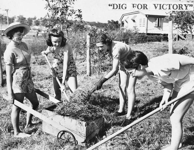 Digging for victory, Brisbane 1941 | Flickr - Photo Sharing!