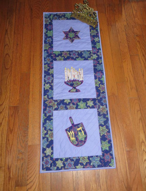 298 best images about Jewish quilt ideas on Pinterest Star of david, Menorah and Shabbat shalom