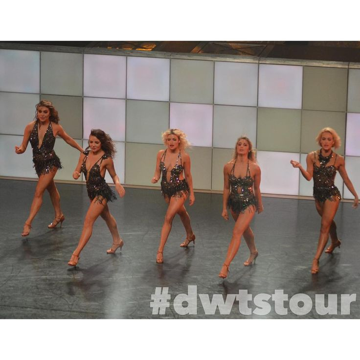 """DWTS: Live! Tour on Instagram: """"S Q U A D  — Photo sent in by Emma Schroeder from Evansville, IN (8.1)"""""""
