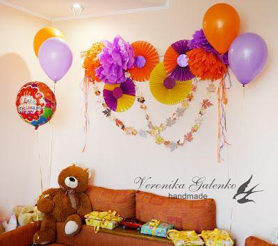 Подарки и сувениры ручной работы: Birthday decoration