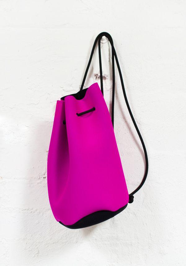 Foldaway Tote - magenta-ish purple by VIDA VIDA jE001M