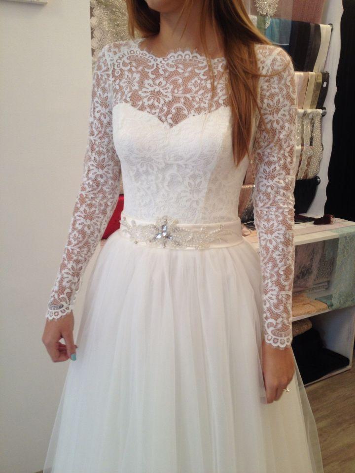 Beautiful Bride... Perfect dress ❤️ #dress #dress2impress #bride #beautiful #bridetobe #lace #softlace #crystals #princess #princessbride #swarovski #elegance #luxury #dressoftheday #margo #margoconcept