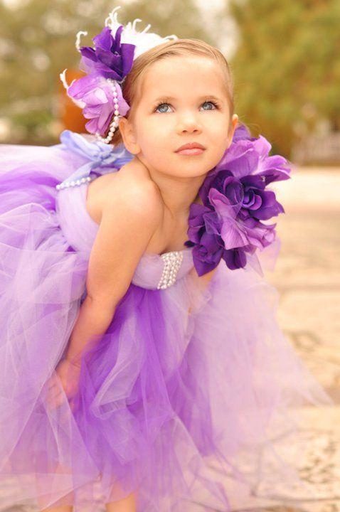 Flower girl outfits?: Safe, Idea, Wedding, Tutu Dresses, Flower Girl Dresses, Kids, Flower Girls, Purple Flower