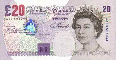 Pound Sterling to US Dollar cash converter