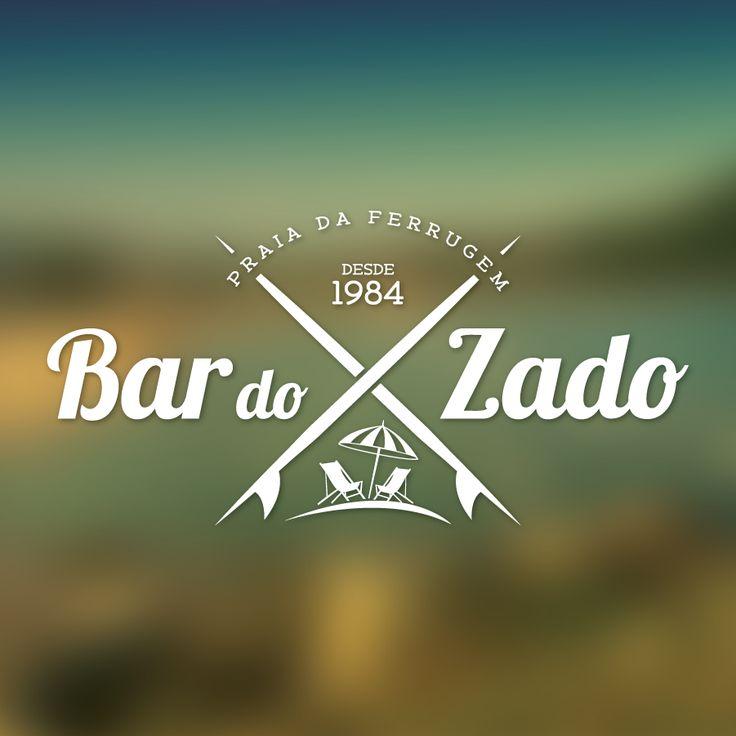 Bar do Zado - Praia da Ferrugem -  Logo http://www.luiconceitocriativo.com