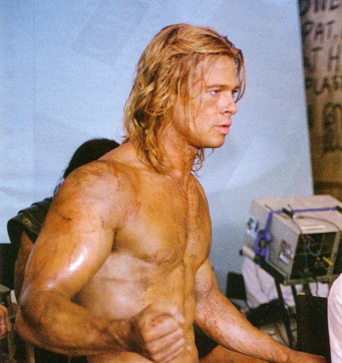Brad Pitt Troy Body