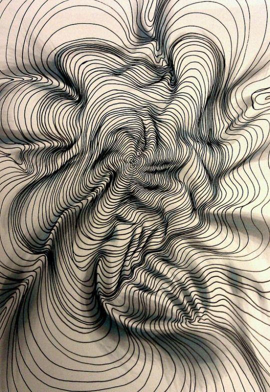 Best Line Drawing Artists : Die besten optische täuschungen zeichnen ideen auf