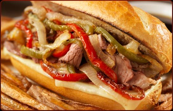 If you're from Chicago—particularly the south side—Italian beef needs no introduction. It's a messy, drippy, supremely satisfying sandwich featuring slow-roasted thinly sliced beef, fried peppers, and bottled giardiniera (chunky pieces of pickled vegetables). Thought to be invented in the 1920s for Italian immigrants, it is now sold and beloved throughout the Windy City. For best results, chill the cooked meat thoroughly before slicing on a meat slicer.