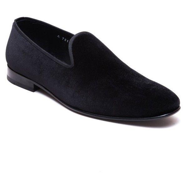Men's Jared Lang Hugh Tassel Loafer ($198) ❤ liked on Polyvore featuring men's fashion, men's shoes, men's loafers, black velvet, mens tassel shoes, mens tassle loafers, mens loafers, mens studded shoes and mens tassel loafer shoes
