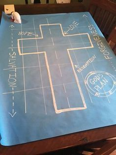 Good afternoon! I am so excited to share with y'all the cheapest, easiest blueprint-making-method ever! Carrie A. (who is part of our Maker Fun Factory facebook group) made these phenomenal (and huge) blueprints for pennies. They are large and will be a quick, easy way to decorate spaces (think hallways, stairwells, on stage, etc). This...